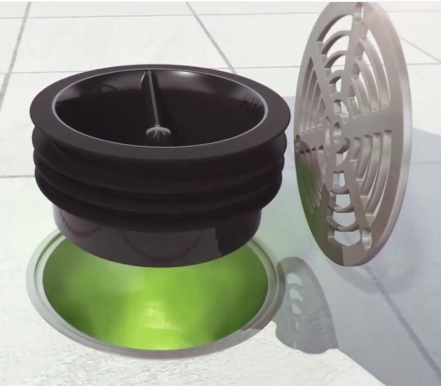 Green Drain 35  DrainNet liquid breakers  odor blockers