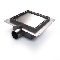 Square Stainless Steel Shower Drain Tile Insert