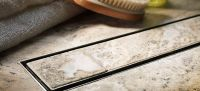 ACO Tiled Shower Channel Drainage Empty Tile Grating ...