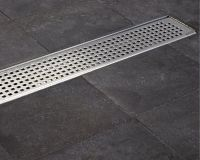 ACO Tiled Flooring Shower Drainage Channel Quadrato