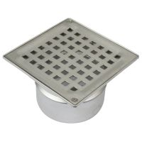 Shower Floor Drain Square Drain Stainless Steel 110mm With ...
