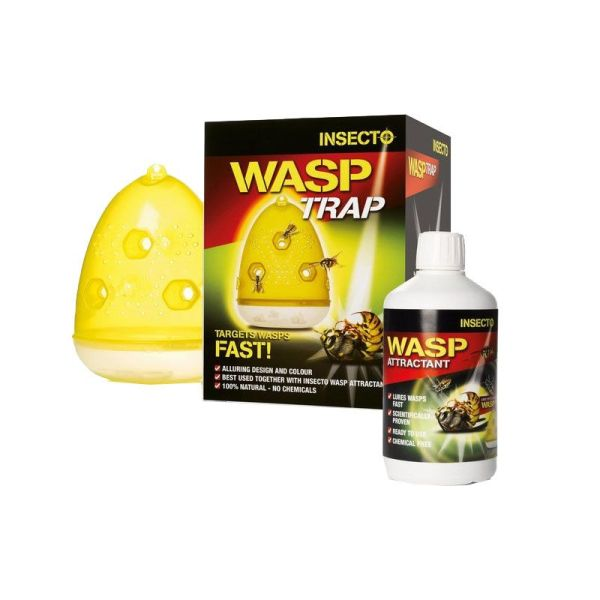 Wasp Trap & Attractant Drainage Superstore