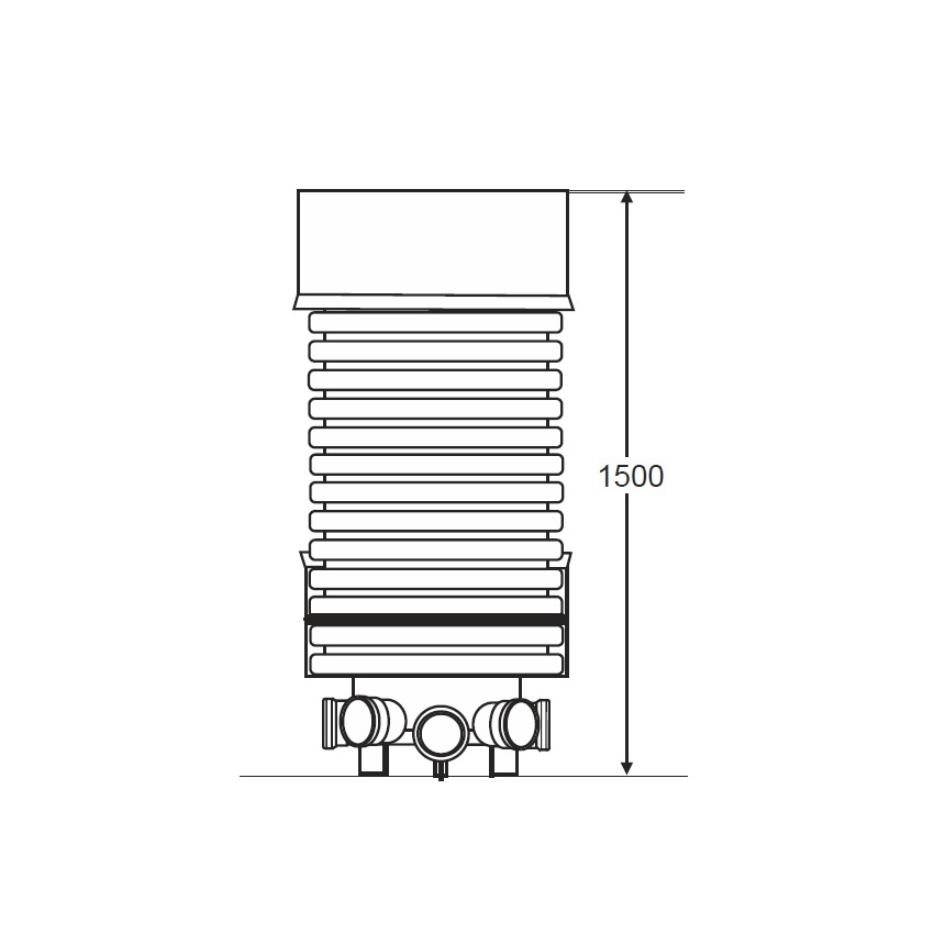 Accesso IC110 600mm Adoptable Inspection Chamber Kit