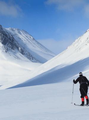 cross-country skiën, langlauf