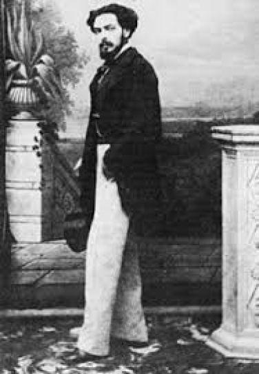 Ο Εμμανουήλ Ροΐδης, σημαντικός Έλληνας λογοτέχνης και δοκιμιογράφος