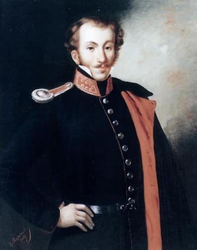 Ο Δημήτριος Υψηλάντης, στρατιωτικός και αγωνιστής της επανάστασης του 1821.