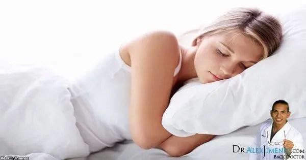 Blog Image tidur posisi sakit punggung