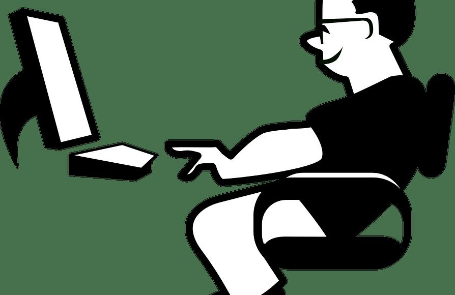 ergonomi bilgisayar adamı grafik el paso tx