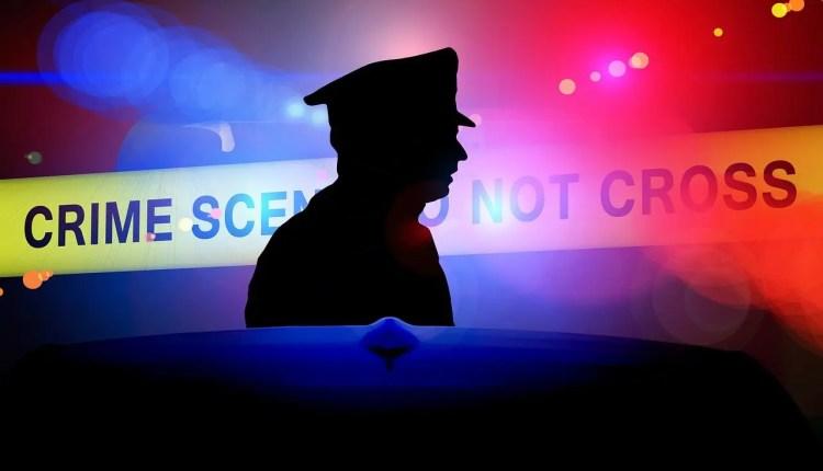 cinta del escenario del crimen