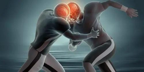 Dimostrazione di concussione dell'immagine del blog e