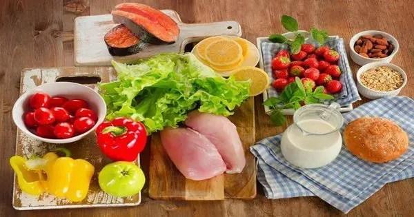 blog de imágenes de alimentos saludables establecidos