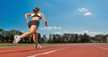 blog picture of lady running on track