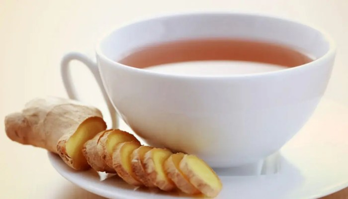 blog picture of ginger tea