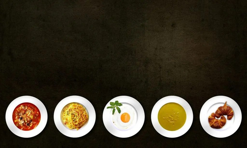 blog picture of various healthy dishes