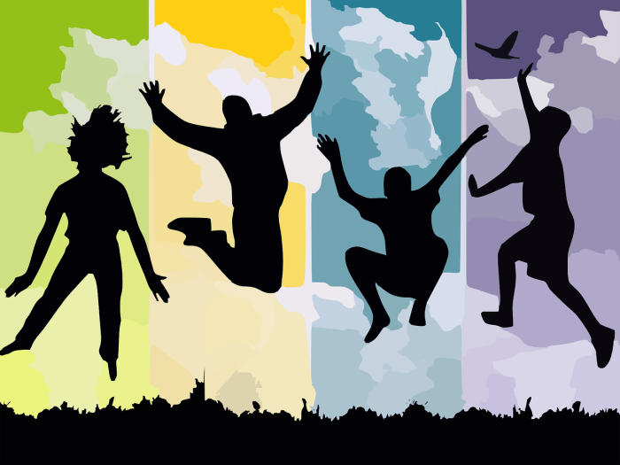 blog illustration of people jumping and celebrating