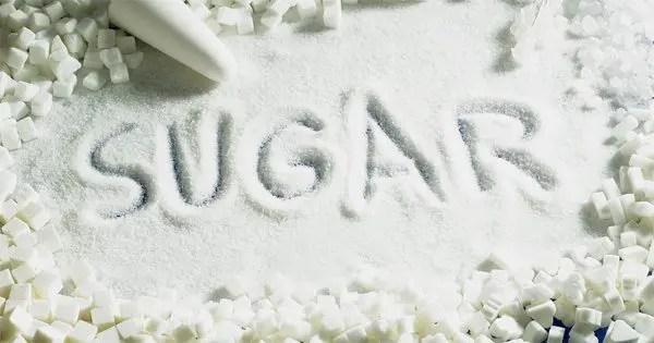 Gambar blog gula dengan kata gula dieja ke dalamnya