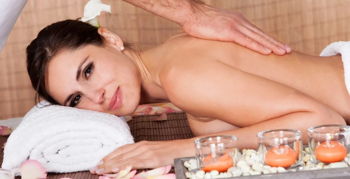 blog picture of lady getting massage