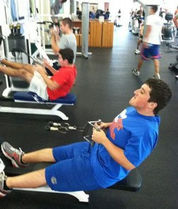 obesity young men working out in gym el paso tx