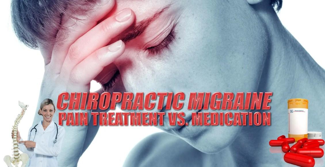 Хиропрактика Мигрень Лечение боли против лекарств Изображение обложки | El Paso, TX Chiropractor