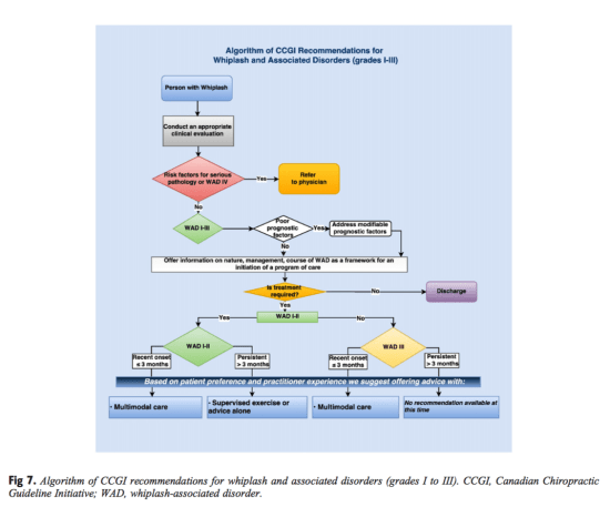 Figure 7 Algorithm of CCGI Recommendations for WAD