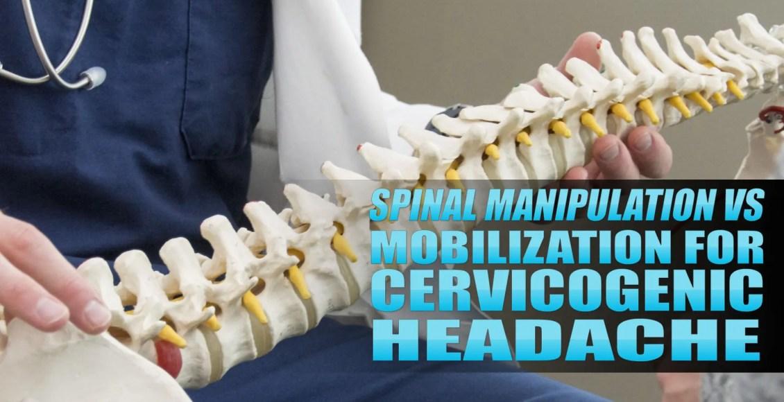 Manipolazione spinale vs mobilizzazione per l'immagine di copertura cervicogenica di mal di testa | Chiropratico di El Paso, TX