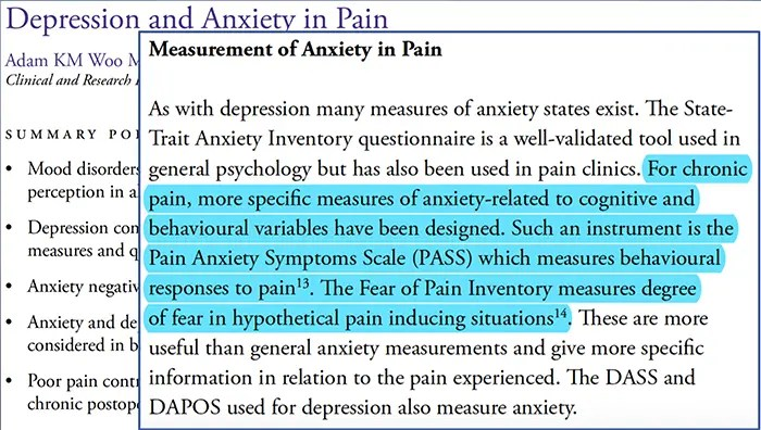 pain anxiety depression el paso tx.