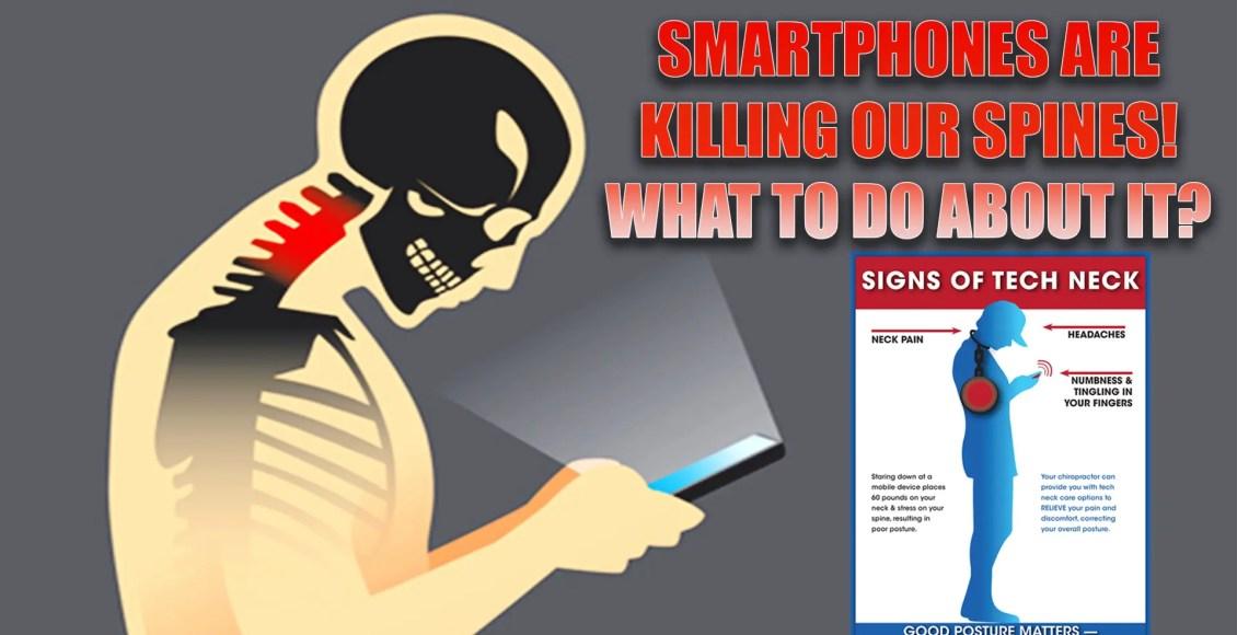 smartphones spine issues atención quiropráctica el paso, tx.