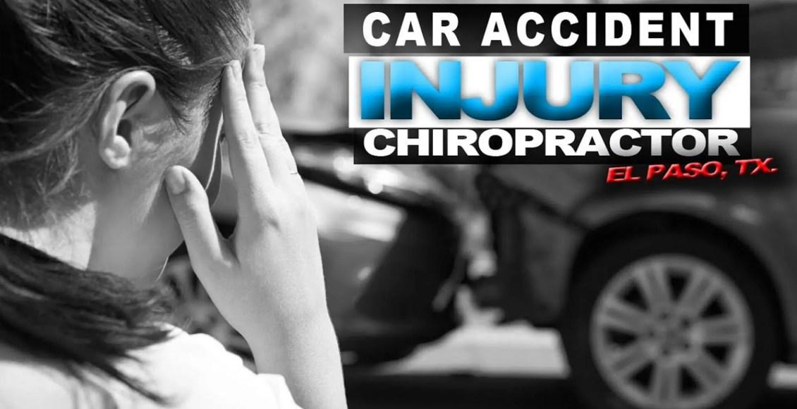 Kiropractika helpo aŭtomobila akcidentoj El paso tx.