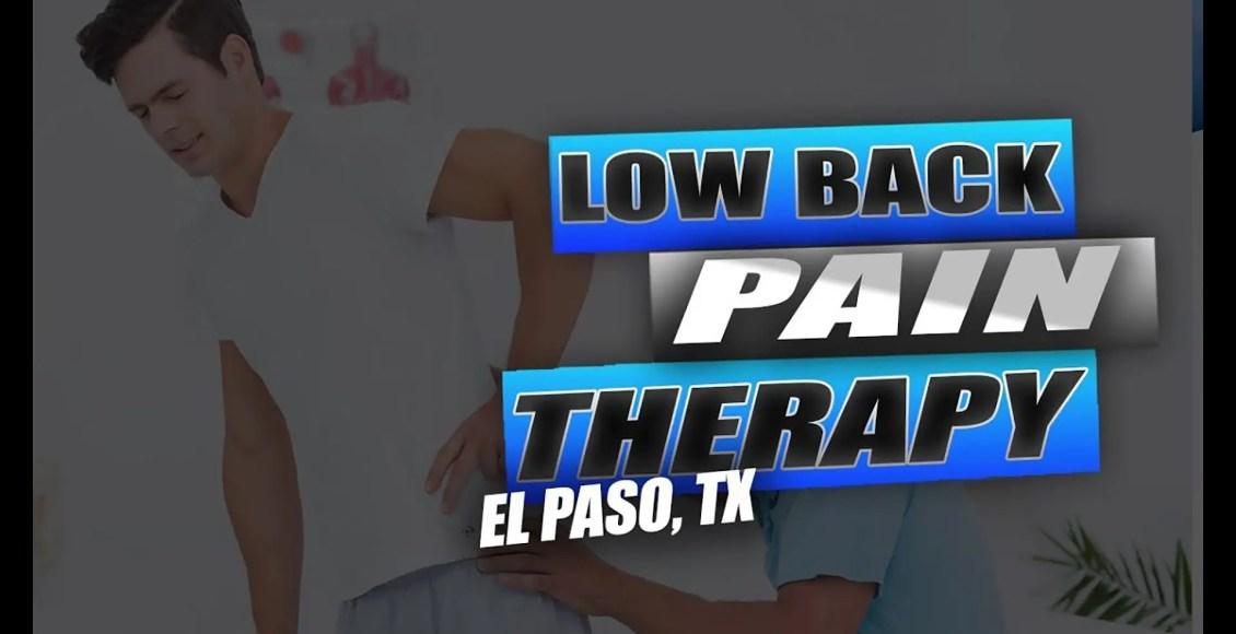 terapia da dor lombar el paso tx.