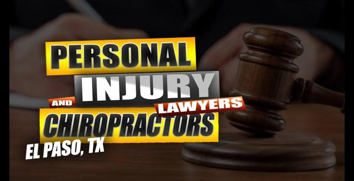 advogados de ferimento pessoal e quiropráticos el paso tx.