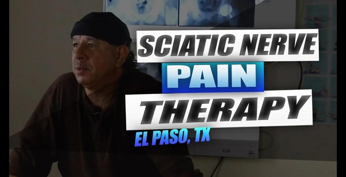 Terapia del dolor del nervio ciático el paso tx.