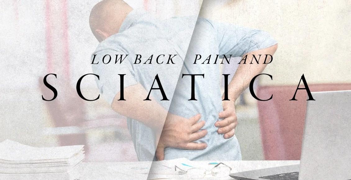 Dolor en la espalda baja y ciática | El Paso, TX Quiropráctico