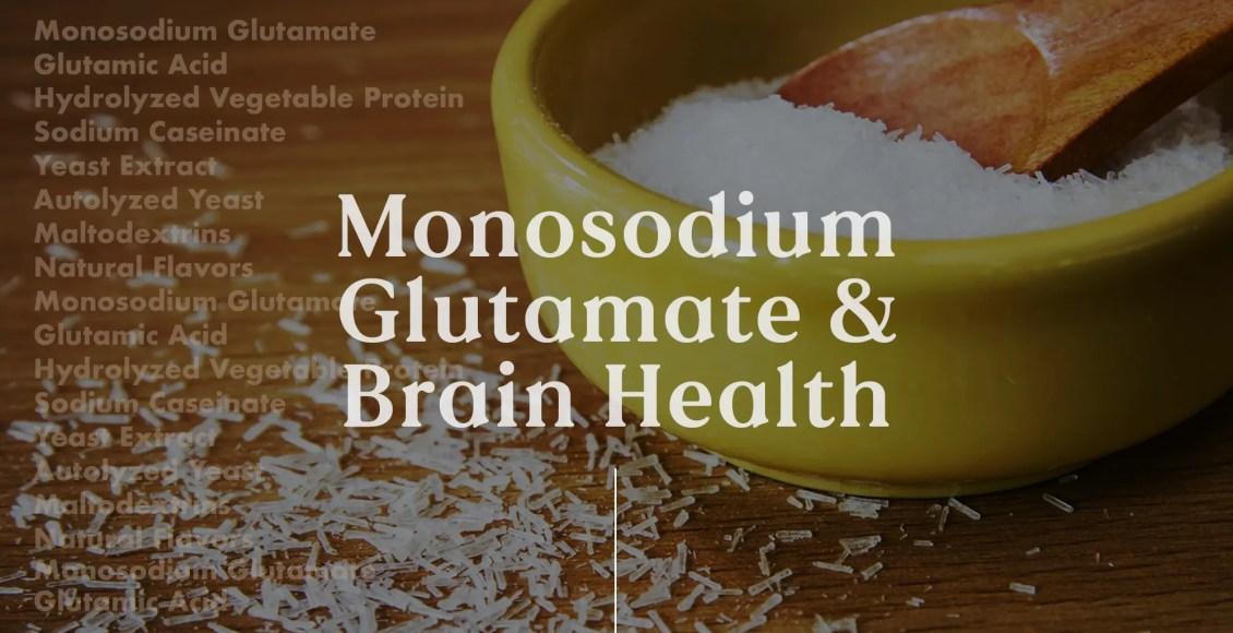 Neurología funcional: glutamato monosódico y salud cerebral | El Paso, TX Quiropráctico