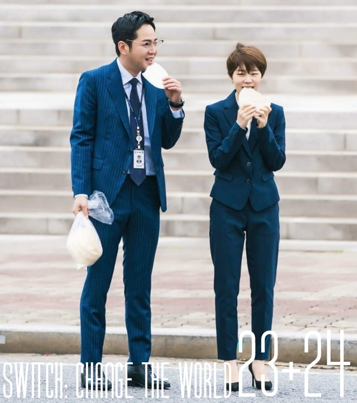 Korean Drama Switch Change the World Live Recap Episodes 23 and 24