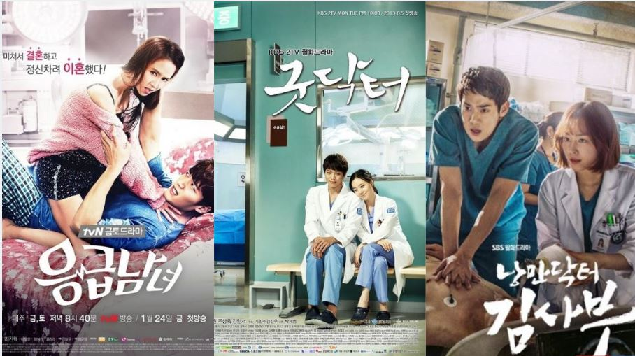 Medical-Romance Korean Dramas