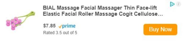 BIAL Massage Facial Massager Thin Face-lift Elastic Facial Roller Massage Cogit Cellulose Roller for Face Up
