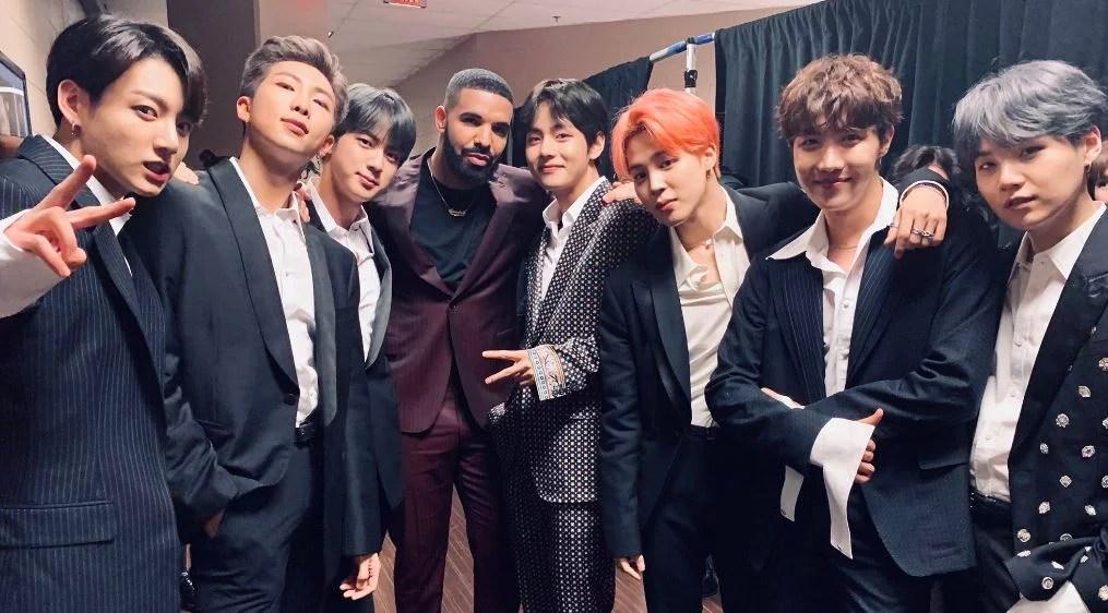 BTS Win Best Group