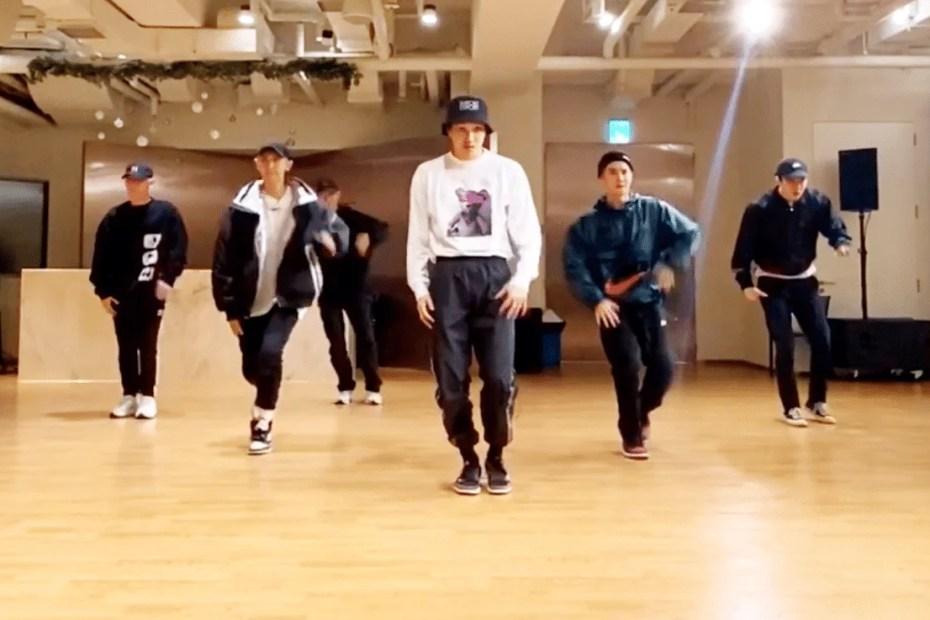 EXO SHOWCASED NEW DANCE MOVE