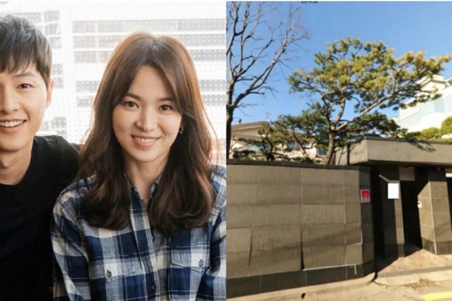 Song Joong Ki and Song Hye Kyo's Newlywed House