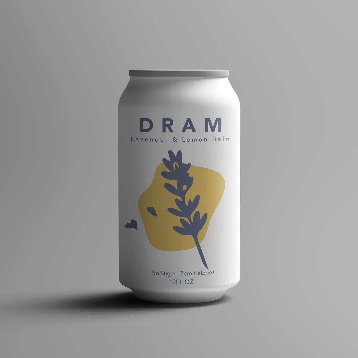DRAM Lavender Sparkling Water