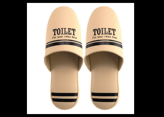 0974092642bcd The key objective here is to avoid stepping on the bathroom floor in your  bare feet. So step directly into the slippers in the bathroom – if you can,  ...