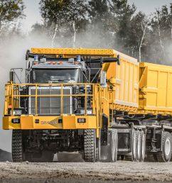 dramis d150t haul truck for mining [ 5624 x 3754 Pixel ]