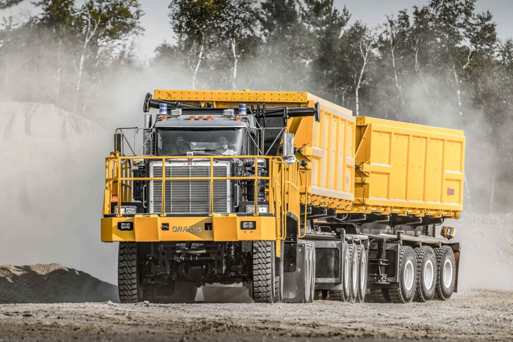 medium resolution of dramis d150t haul truck for mining