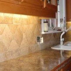 Stone Kitchen Backsplash Round Table Sets Backsplashes Carrollton Tx Elegant In