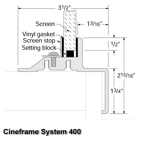 Cineframe System 400 :: Draper, Inc.