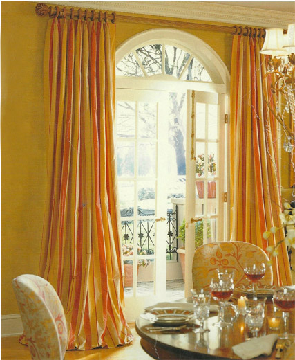 curtain rod placement ideas drapery