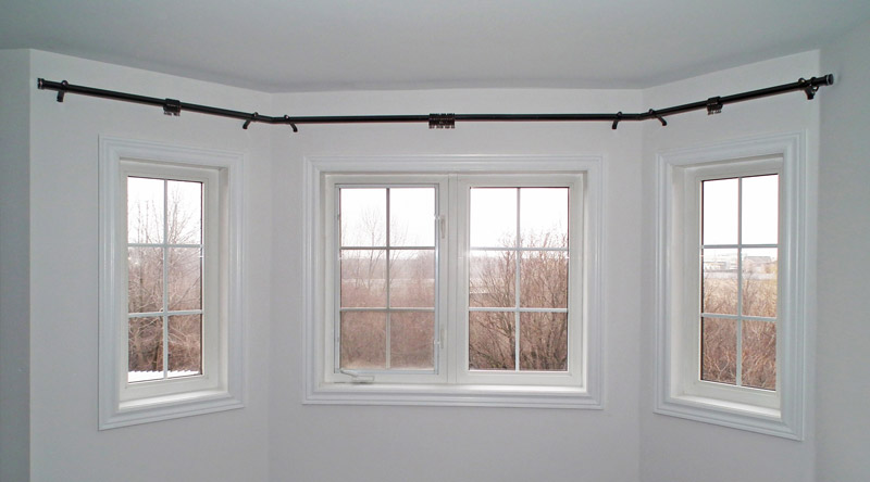 Bay Window Curtain Rods Beautiful Curtain Rods For Bay Windows