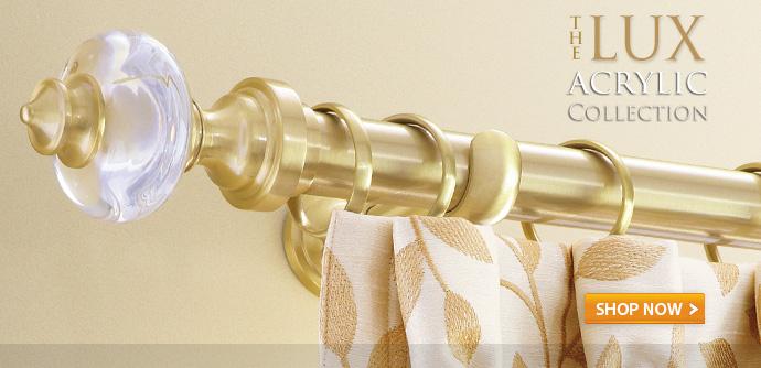 curtain rods drapery hardware canada
