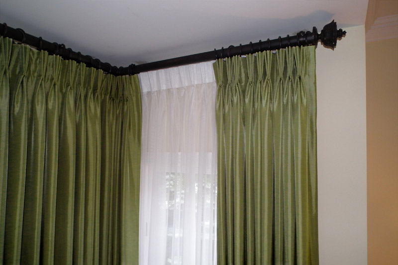 Corner Curtain Rods  Buy Corner Window Curtain Rods