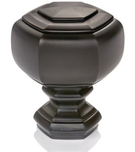 """Grotto Finial for 1 3/8"""" Designer Metal curtain rods"""